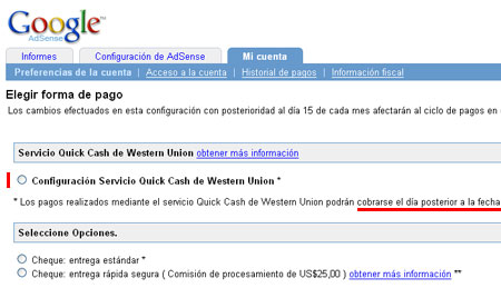 Adsense blog no official pero ayudamos for Oficinas western union en barcelona