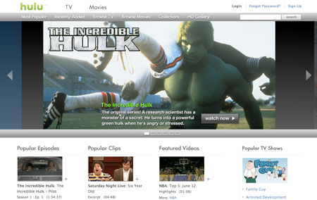 Hulu y el Hulk Original!