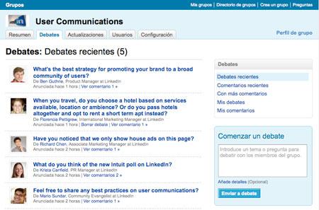 linkedin-grupos-debates Nueva plataforma de grupos en LinkedIN