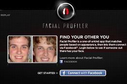 Coke zero facial profiler uygulamasıyla facebooktaki benzerinizi bulun